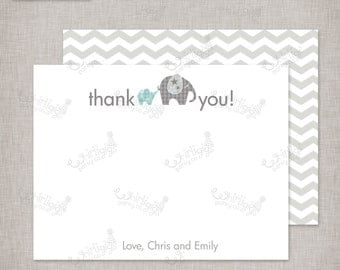 "Customized Thank You Notes - ""Baby of Mine"" Baby Shower Theme"