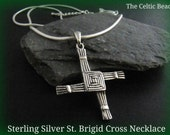 Sterling Silver Irish St. Brigid Necklace