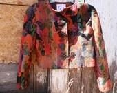 1980s Doncaster Floral Print Jacket