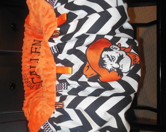 Oklahoma State Shopping Cart - Highchair Cover
