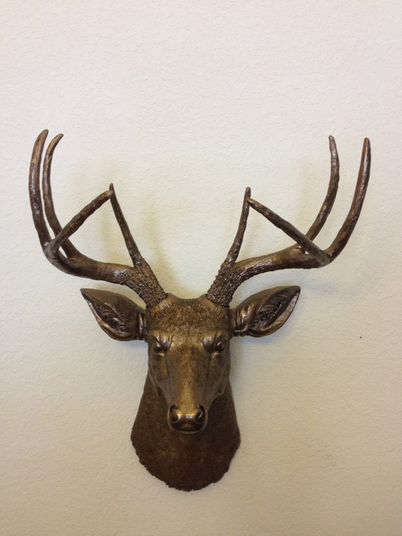 Items Similar To Faux Deer Head Hunting Trophy With