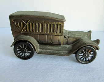 Vintage Banthrico 1917 Pierce Arrow Touring Car Coin Bank
