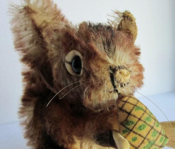Vintage Steiff Perri Squirrel German Toys