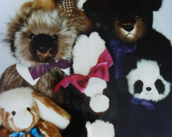 Custom artist bears from your fur.