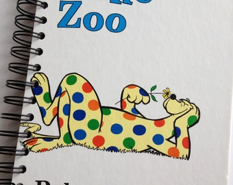 Put Me In The Zoo Dr. Seuss Beginner Books Recycled Journal Notebook