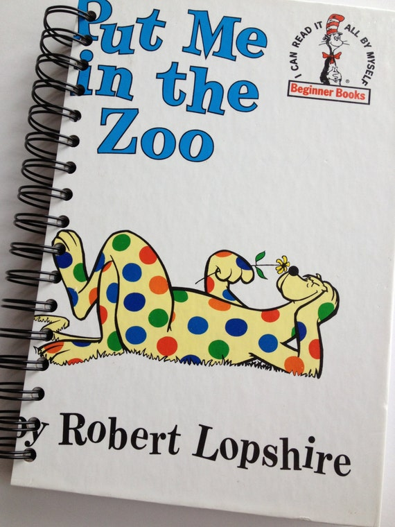 Put me in the zoo dr seuss beginner books by for Dr seuss put me in the zoo coloring pages