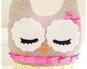 Stuffed owl- Elizabeth