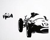 1960s Formula 1 - limited edition screenprint