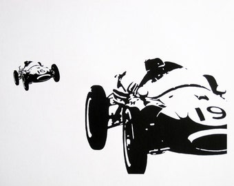 1960s Formula 1 - limited edition screenprint