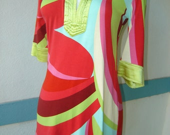 Vintage Cynthia Steffe Shift in Multi Color