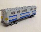 Subway Car Custom LEGO Kit (Series BKNY-105)