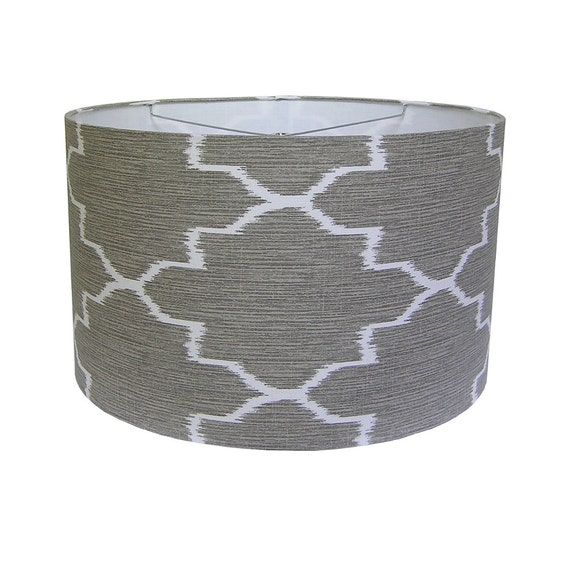 drum pendant shade dining table shade large lamp shade made to order. Black Bedroom Furniture Sets. Home Design Ideas