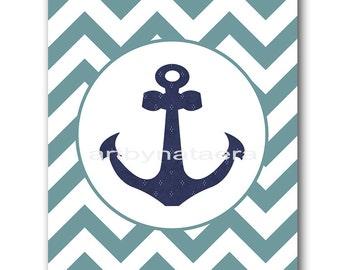 Sea Nautical Baby Boy Nursery Art Print Children Wall Art Baby Room Decor Kids Print Nursery Decor Boy Baby Wall Art Sea Blue Navy