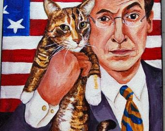 8 x 10 Custom Pet Celebrity Portrait Acrylic