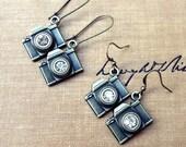 Camera Earrings, Photography Jewelry