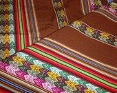 Brown Aguayo Fabric