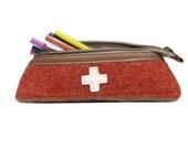 WD67 Swiss Army Blanket Pencil Case by Karlen Swiss