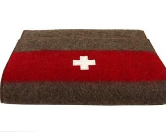 WD237 Swiss Army Blanket Laptop Sleeve by Karlen Swiss