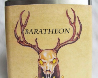 Game of Thrones Flask - Baratheon