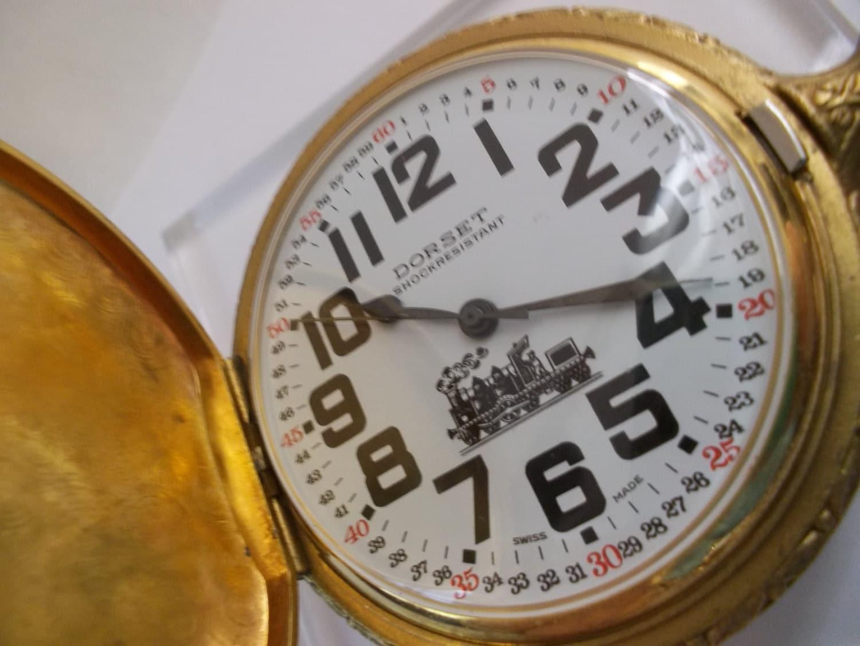 Vintage dorset pocket watch vintage swiss made watches for Swiss made watches