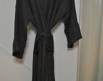 Simply Rustic Linen Robe