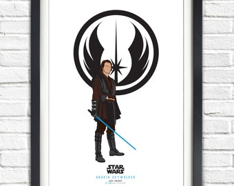 Star Wars - Solo Series - Anakin Skywalker - 19x13 Poster
