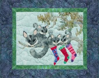 """McKenna Ryan """"Playin' Possum"""" Quilt Pattern, Chrissy Down Under, Possum"""