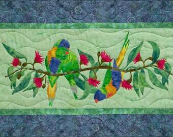 """McKenna Ryan """"Merry Mates"""" Quilt Pattern, Chrissy Down Under, Birds"""