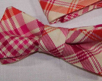 Little Guy Bow Tie Joel Dewberry Notting Hill tangerine -  Toddler Bow tie - Child Bow Tie