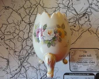 Vintage Egg Vase Porcelain Inarco 1962
