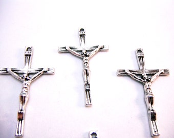 Alloy Cross Pendants (Quantity of 10) PEND001