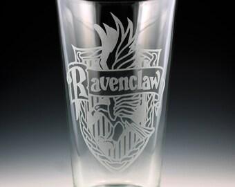 Harry Potter Ravenclaw House Crest Pint Glass