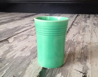Original  fiestaware green  juice tumbler
