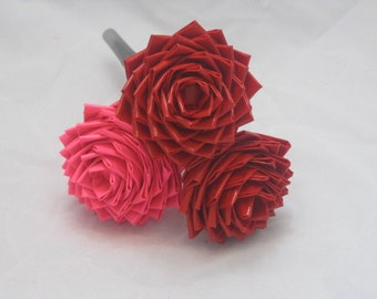 Valentine's Day Duct Tape Rose Pen