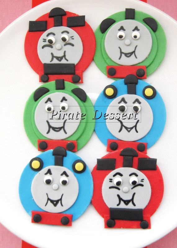 THOMAS THE TRAIN Edible Cupcake Toppers Thomas and Friends