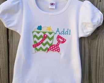 Personalized Sand Pail Shirt