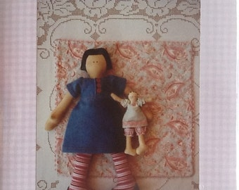 "Rosalie Quinlan Designs ""My Dolly Bekkie"" 16"" Doll Pattern"