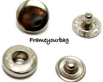 32 sets 10mm snap button Snap Fastener - SB01