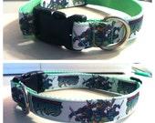 Custom Teenage Mutant Ninja Turtles dog collar TMNT