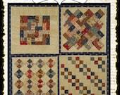 Mini Charm Quilts PDF quilt pattern