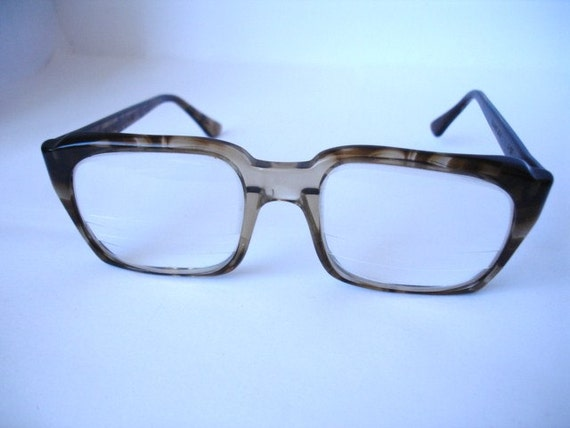 Authentic Vintage 1960's Men's Retro Eyeglasses - See our huge collection of vintage eyewear