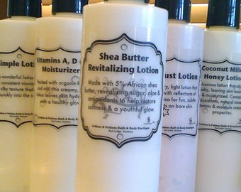 16oz Shea Butter Revitalizing Lotion Skin Care Moisturizer, Lotions and Potions