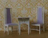 Charles Rennie Mackintosh Florentine Table and Chairs