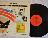 Vintage Record Paul Simon: There Goes Rhymin' Simon Album LP Columbia KC 32280