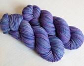 Hand Dyed Superwash Merino Wool Yarn - Worsted - 230 Yards