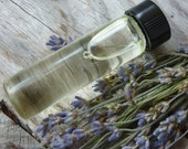 1/4OZ Pure Lavender Essential Oil in Glass Vial...Use for Scenting Dryer Balls, Oils, etc...  All Green Homes Should Have It, Choose Scent