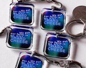 MST3K Resin Keychains Space Mutiny We Put Our Faith in Blast HardCheese Secret Santa Gift