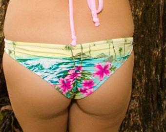 Scrunch Bum Bottoms- Aloha Kauai Print