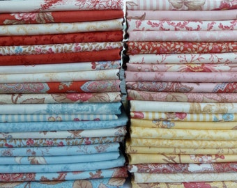 3 Sisters for Moda Fabrics Lario Collection One 40 Piece Fat Quarter Yard Bundle