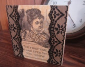 Valentine's Day Card Romantic Steampunk Victorian - We're Weird